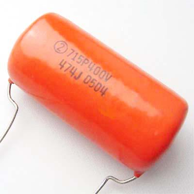 Sprague OrangeDrop 0.47μF/400VDC