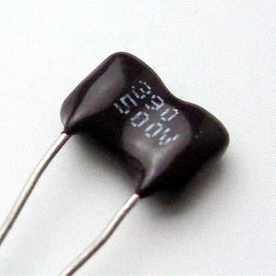 SAHA ディップドシルバーマイカ 390pF/500VDC