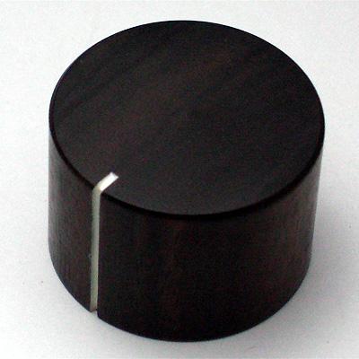 ウッドノブ 黒檀 30mm