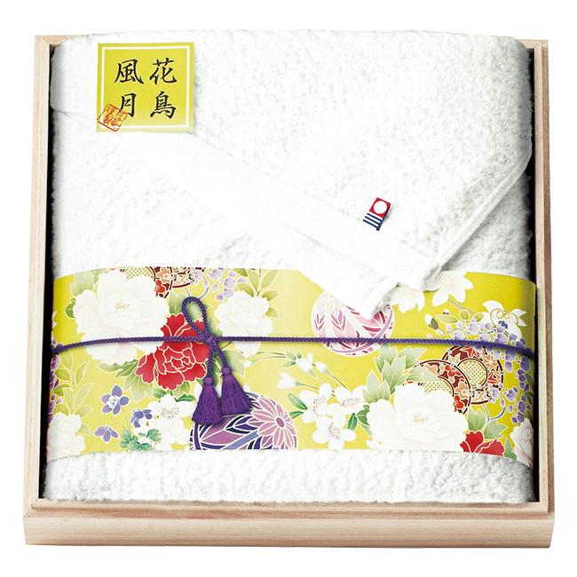 匠菴謹製 今治ブランド認定 国産バスタオル(木箱入り) No.35