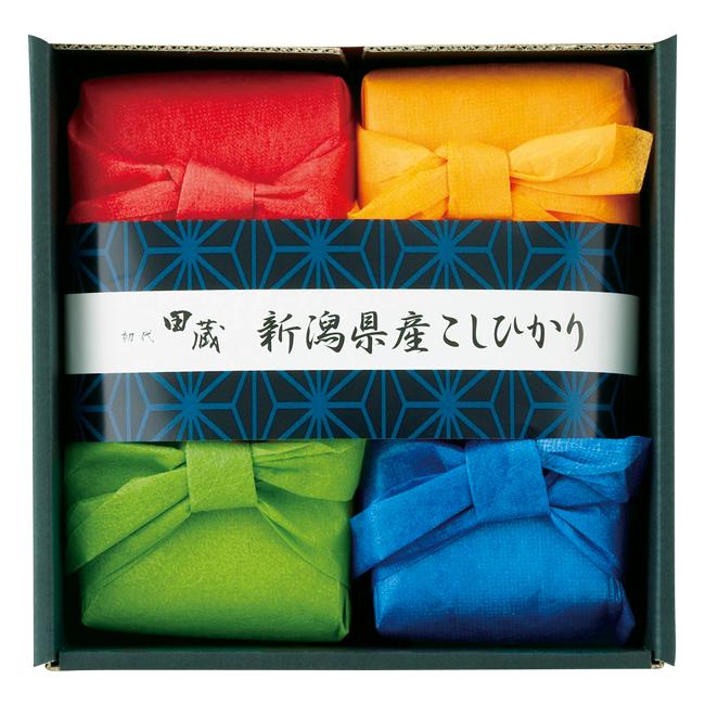 初代 田蔵 極上新潟県産こしひかりギフト No.30