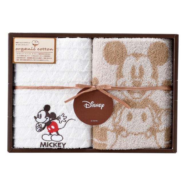 ミッキーマウス モダンプレイ ウォッシュタオル2P No.10