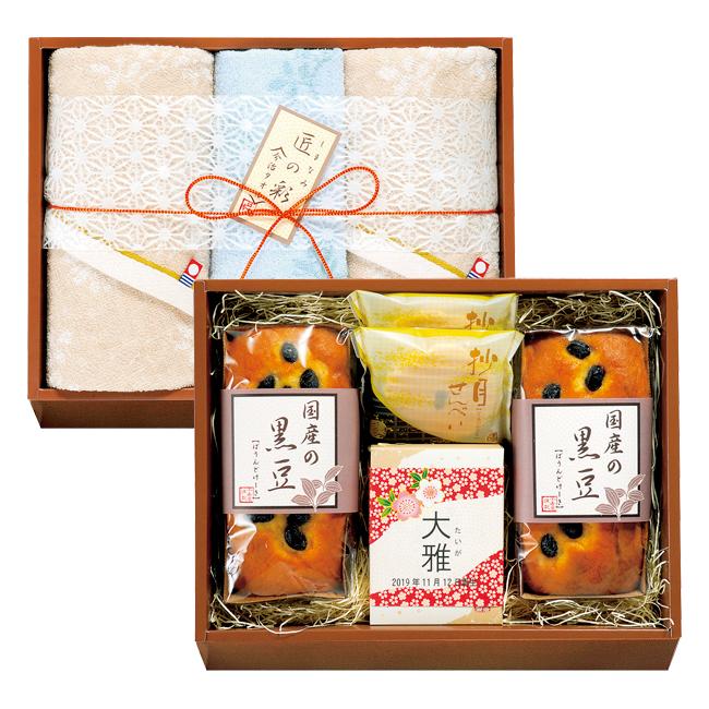今治タオル&和菓子詰合せ No.50