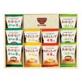 フリーズドライ「お味噌汁・スープ詰合せ」 No.25