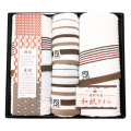 素材の匠 和紙タオルセット No.30