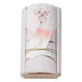 王華 木箱入りさくら刺繍敷きパット No.50 (ピンク)