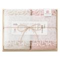 今治謹製 紋織タオル フェイスタオル2P No.20 (ピンク)