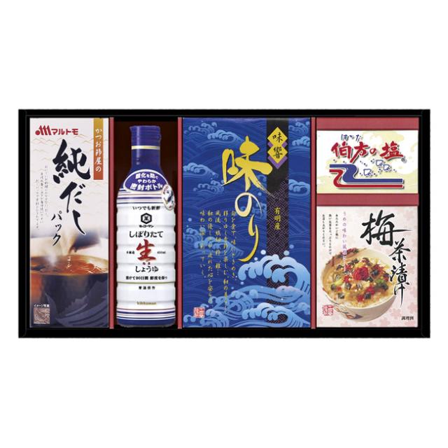 キッコーマン生しょうゆ&バラエティギフト No.30