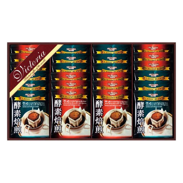 ビクトリアコーヒー 酵素焙煎ドリップコーヒーセット No.30