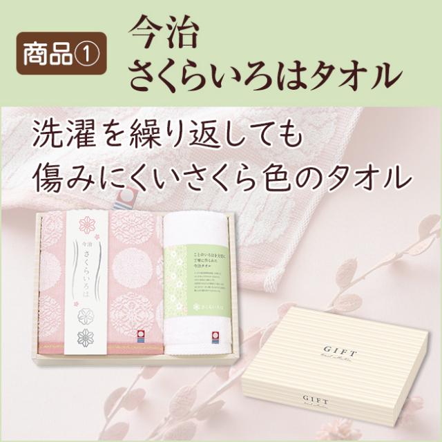 法事2点セットSPC-HO-03(今治白なみタオル&海幸彩)|法事・法要引き出物おすすめ