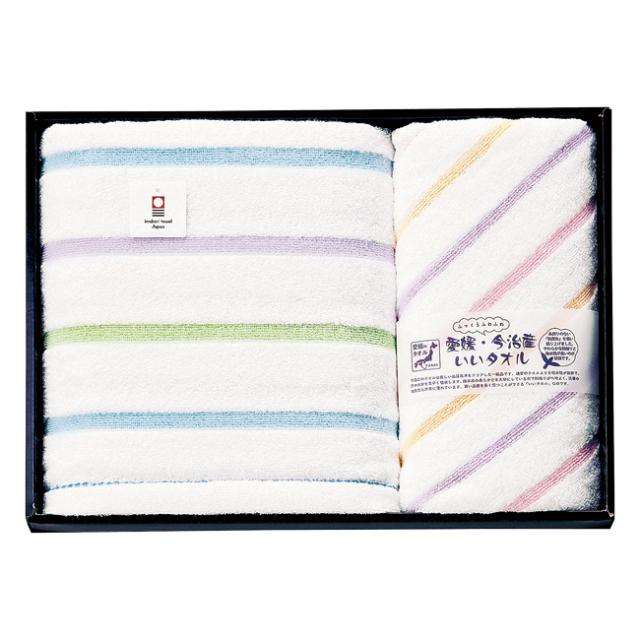 【送料無料】いいタオル・ふっくらふわふわ タオルセット No.65