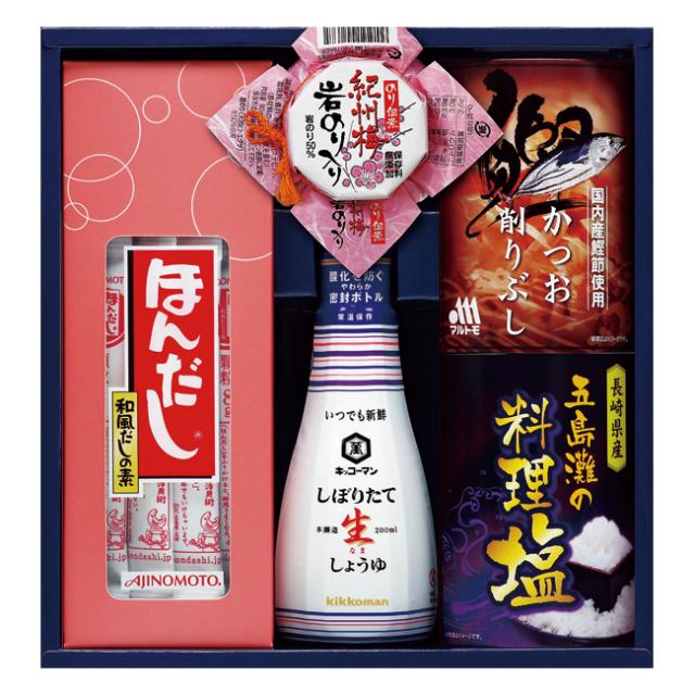 【送料無料】味の素ほんだし&キッコーマンギフト No.25