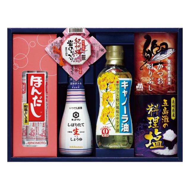 【送料無料】味の素ほんだし&キッコーマンギフト No.30