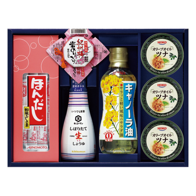 【送料無料】味の素ほんだし&キッコーマンギフト No.40