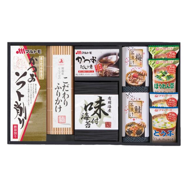 【送料無料】アマノ フリーズドライみそ汁&食卓詰合せ No.30