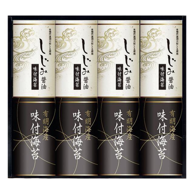 有明海産&しじみ醤油味付のり No.40