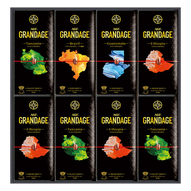 AGF グランデージ ドリップコーヒーギフト No.50