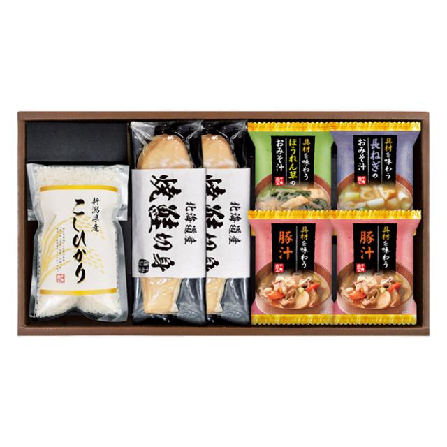 新潟県産こしひかり 食卓彩セット No.25