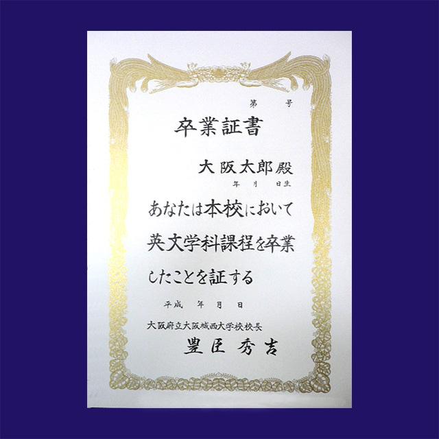 賞状用紙 プリンター対応 B4判-CC 雲入 /100枚 (CB4XOP) マルチホワイト