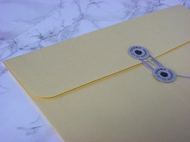 角2封筒 マチ付 保存袋 クリーム 120g 玉付(マルタック)/100枚(H21B05)
