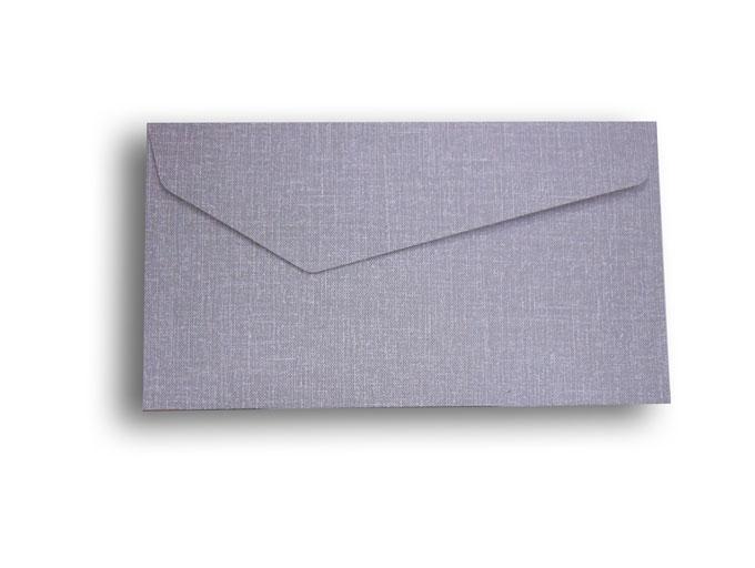 【ZAN月】 プチ封筒 デニムカラー グレー