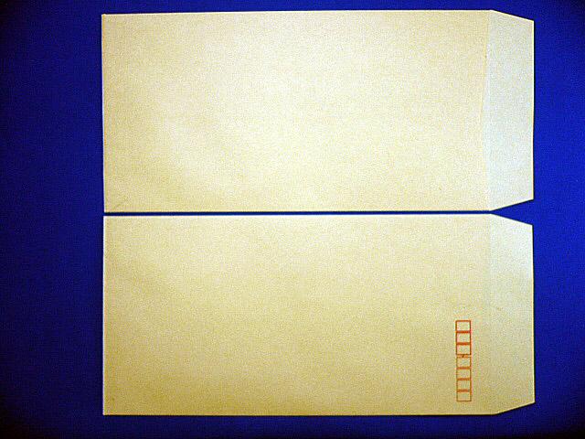 長3封筒 クラフト 85g 中貼 1,000枚(301850)