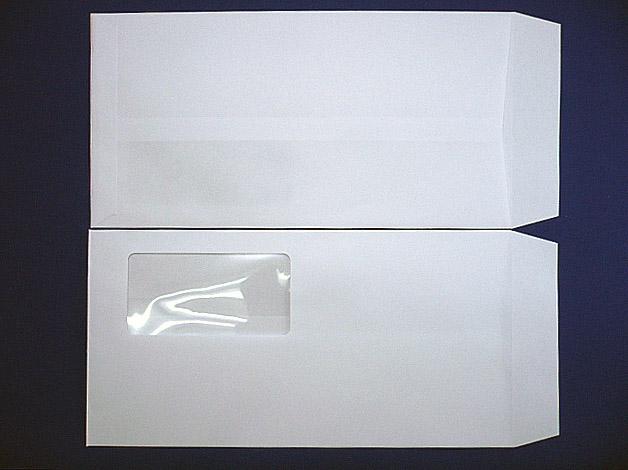 長3封筒 スカイ 85g  A窓付/枠なし 1,000枚(3A8040)