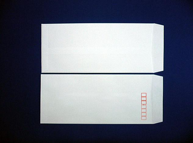 長4封筒 白菊 80g L貼 1,000枚(409011)