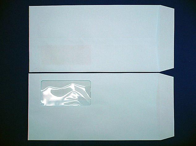 長3封筒ソフトブルー 80g A窓枠なし 1,000枚(3A8300)