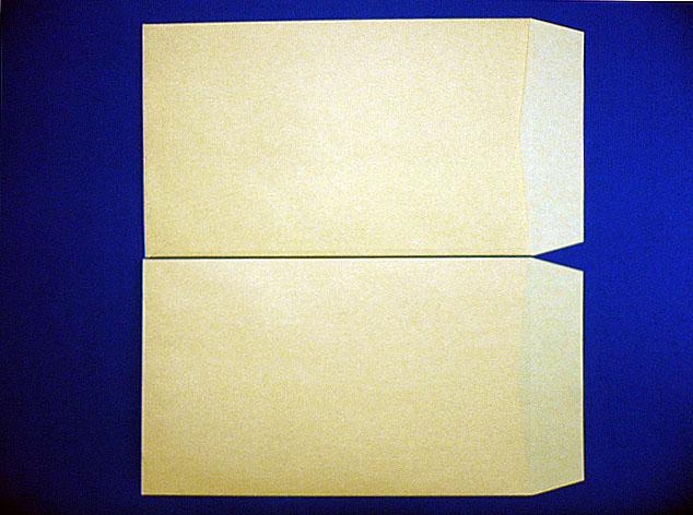 角8封筒(枠なし) クラフト 85g L貼 給料袋 100枚 (KK0851)☆小ロット