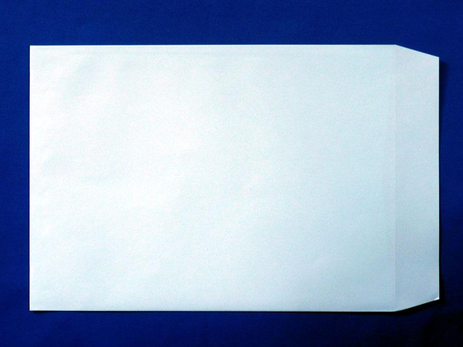 角2封筒 ソフトブルー 100g L貼/500枚 (K22301)
