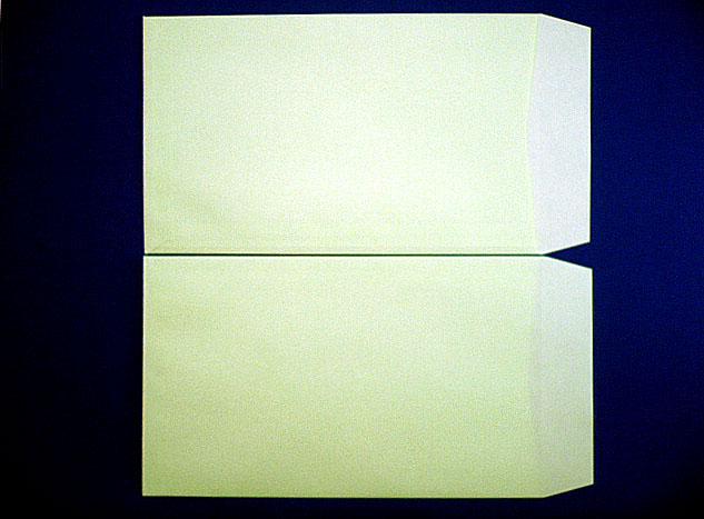 角8封筒(枠なし) ウグイス85g L貼 給料袋 1,000枚 (KK8061)