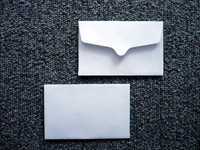 洋9封筒 白菊(枠なし)/100枚(Y90460)
