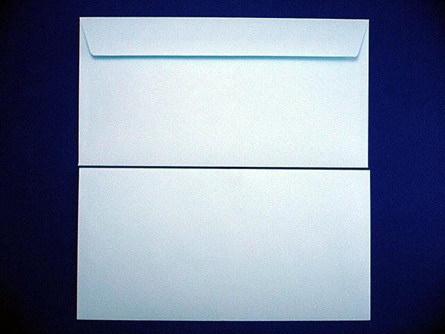 洋0封筒 カマス貼 ソフトブルー 郵便枠なし/500枚(YS0300)