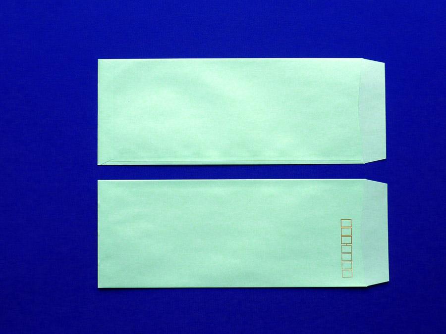 長40封筒 ソフトグリーン 80g L貼 1,000枚(449311)