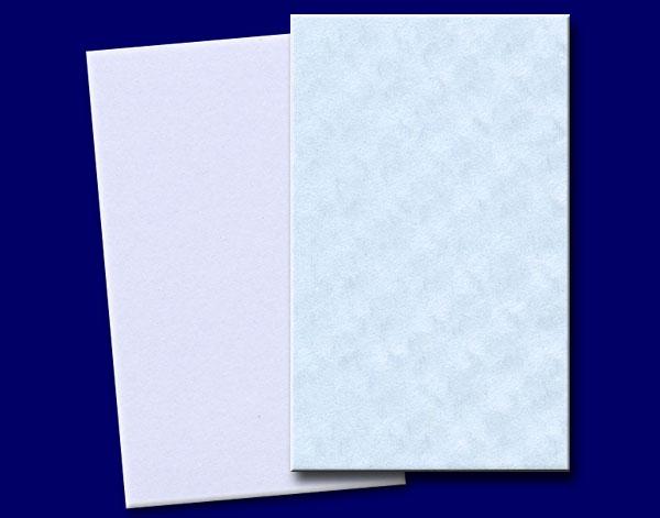 名刺(1丁判) 七宝ブルー 4号 /500枚 (メ44743) 厚口