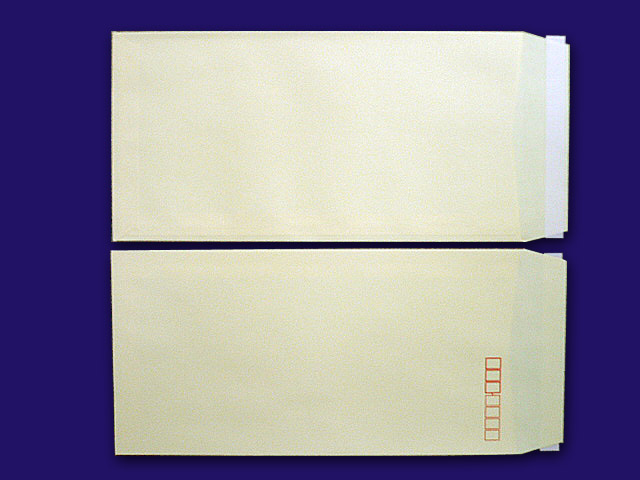 長3封筒 ソフトクリーム 80g L貼 テープ付 1,000枚(30925B)