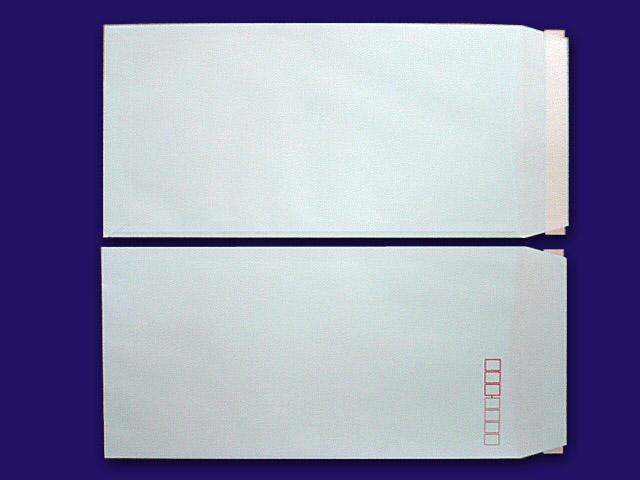 長3封筒 ソフトブルー 80g L貼 テープ付 500枚(30930B)