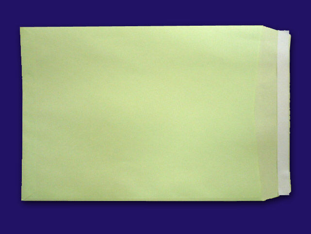 角2封筒 テープ付 ウグイス 85g L貼 500枚(K2806B) 送料無料
