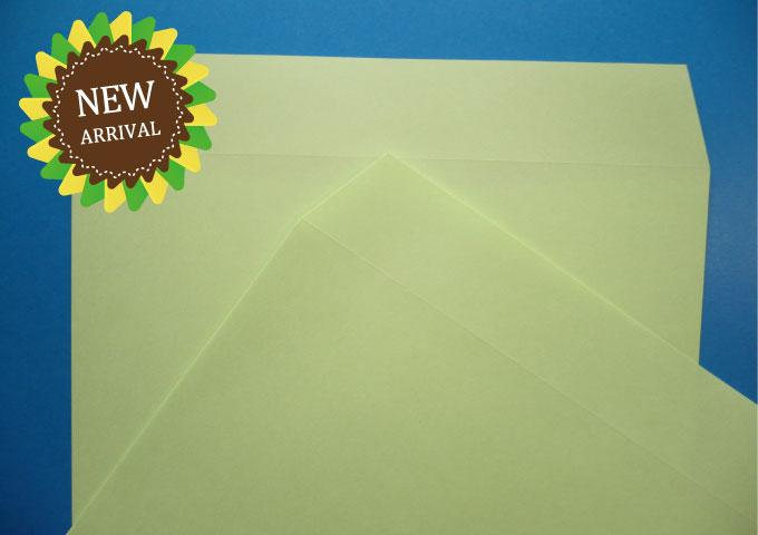 角6封筒 ウグイス 85g 500枚 (K60060)