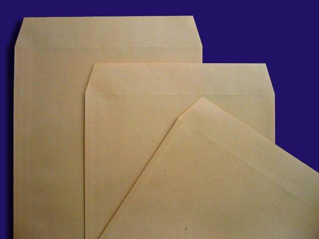 角形封筒クラフト ななめ3枚B