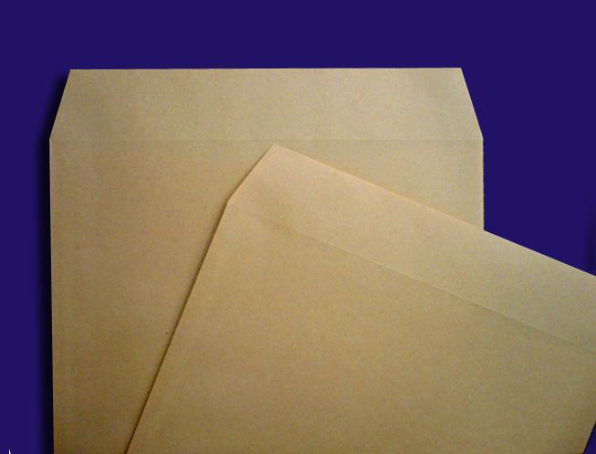 角形封筒クラフト ななめ2枚