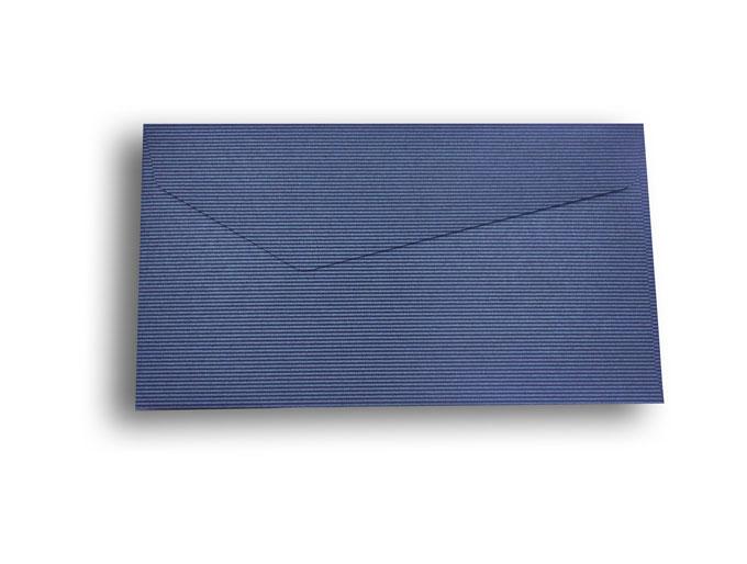 【ZAN月】 プチ封筒 パールライン ブルー