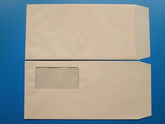 長3封筒 セロ窓付 (中身が見えない)プラテクトピンク 80g 1,000枚(3A0870)