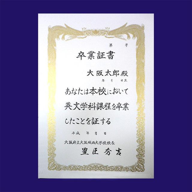 賞状用紙 プリンター対応 A4判-CC 雲入 /100枚 (CA4XOP) マルチホワイト