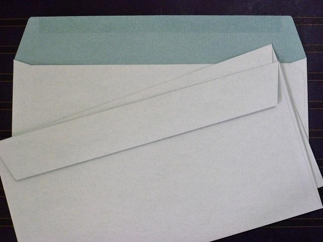 洋0封筒 カマス貼 洋長3(中身が見えない) プラテクト白菊 100g 500枚(YS0830)