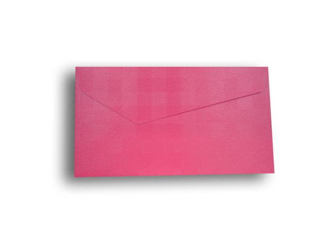【ZAN月】 レギュラー封筒 パールチェック ピンク