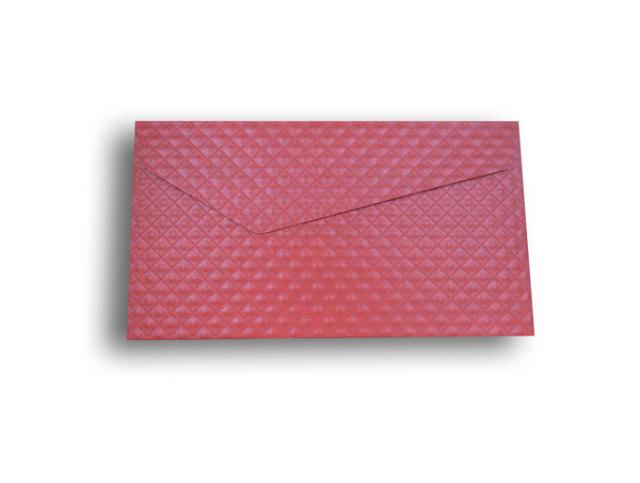 【ZAN月】 レギュラー封筒 パールダイヤ レッド