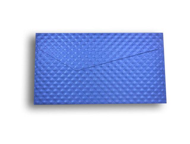 【ZAN月】 レギュラー封筒 パールダイヤ ブルー