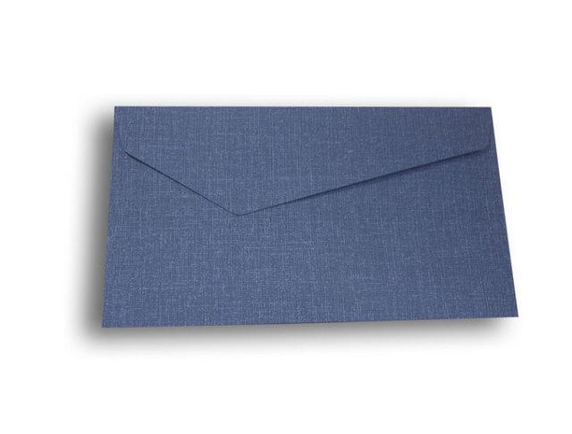 【ZAN月】 レギュラー封筒 デニムカラー ブルー